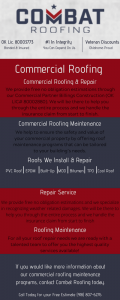 Commercial Roofing Infographic
