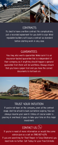 Infographic on Important Steps To Take Before Hiring A Professional Roofer